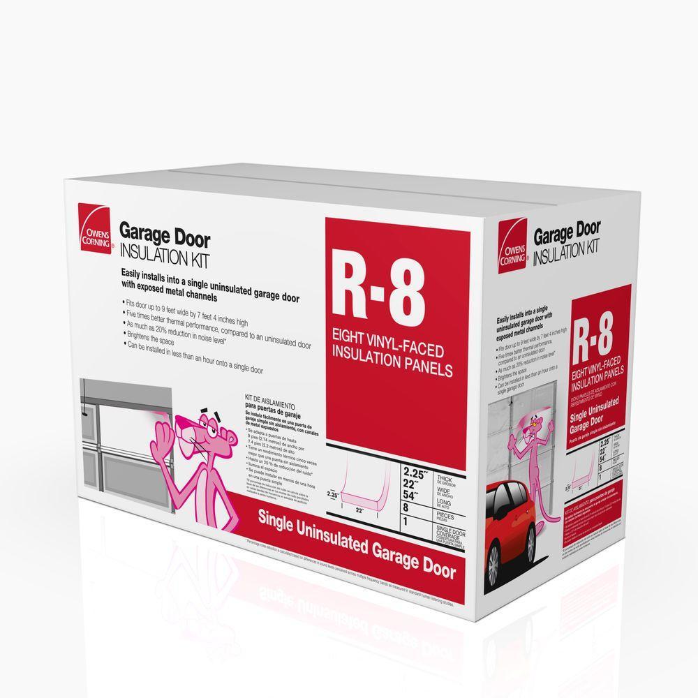 Owens Corning Garage Door 8 Panel Insulation Kit Slickdeals Net