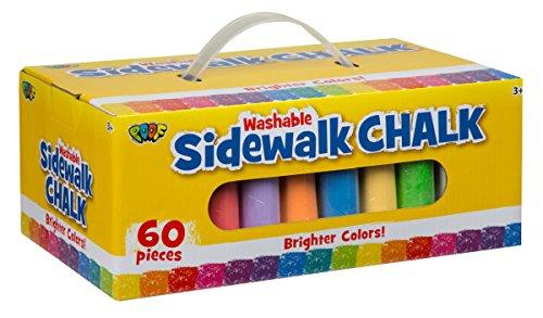 60-Piece POOF Sidewalk Chalk  $5.50 + Free Store Pickup