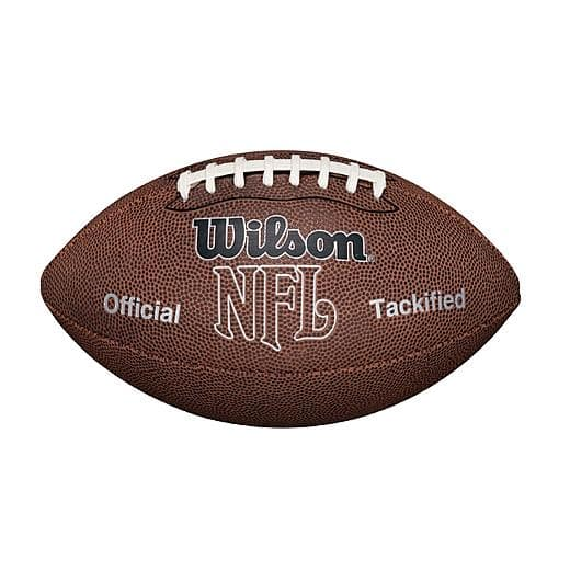Wilson NFL MVP Football (Official Size) + $3 SYW Points for $5.99 at KMart