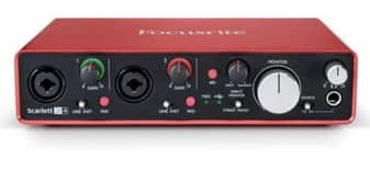 Focusrite Scarlett 2i4 (2nd Gen) USB Audio Interface with Pro Tools $149 + Free Shipping