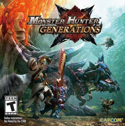 GCU Members: Monster Hunter: Generations (Nintendo 3DS) $23.99 + Free In-Store Pickup
