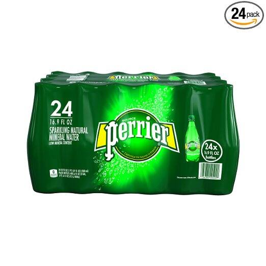 24-Pack of 16.9oz. Perrier Sparkling Natural Mineral Water $12.80 + Free Shipping
