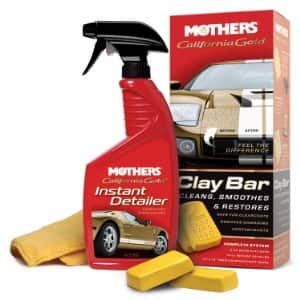 Mothers California Gold Clay Bar System $8.40 + Free Shipping