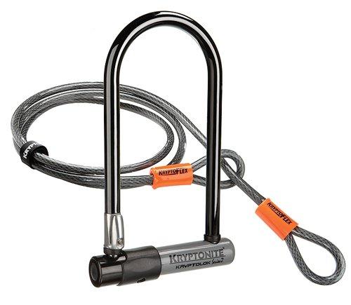 Kryptonite KryptoLok Series 2 Bicycle U-Lock w/ 4' Flex Cable  $29 + Free Shipping