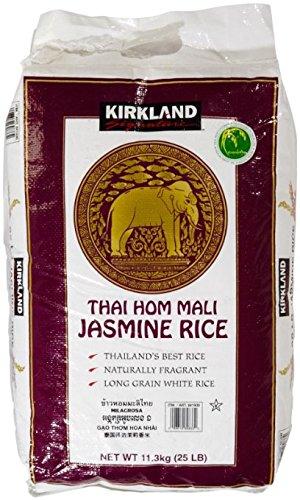 25lb  Kirkland Signature Thai Hom Mali Jasmine Rice - Slickdeals net