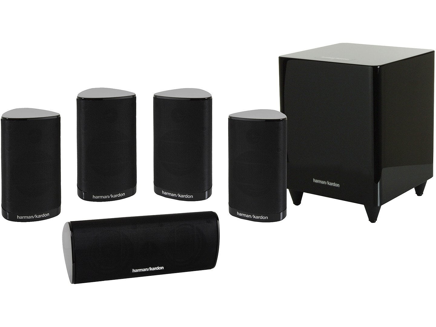 harman kardon hkts 9bq 5 1 channel home theatre speaker. Black Bedroom Furniture Sets. Home Design Ideas