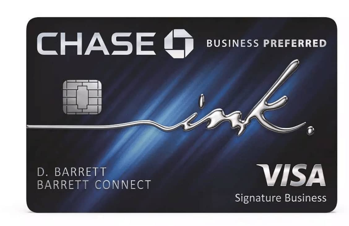 Chase Ink Business Preferred Card - Slickdeals.net