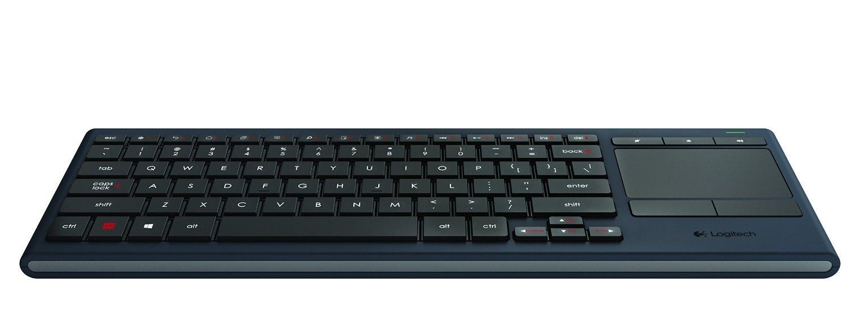 Logitech K830 Illuminated Living-Room Keyboard w/ Built-in ...