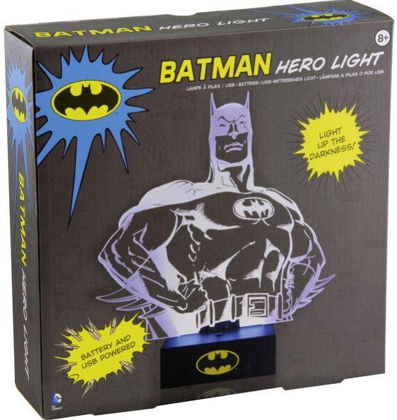 Batman Hero USB or Battery Powered Light by Paladone $9.99 + Free Shipping