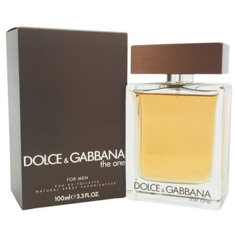 3.3oz The One by Dolce & Gabbana for Men's EDT Spray + $5 Target eGift Card $35.99 + Free Shipping