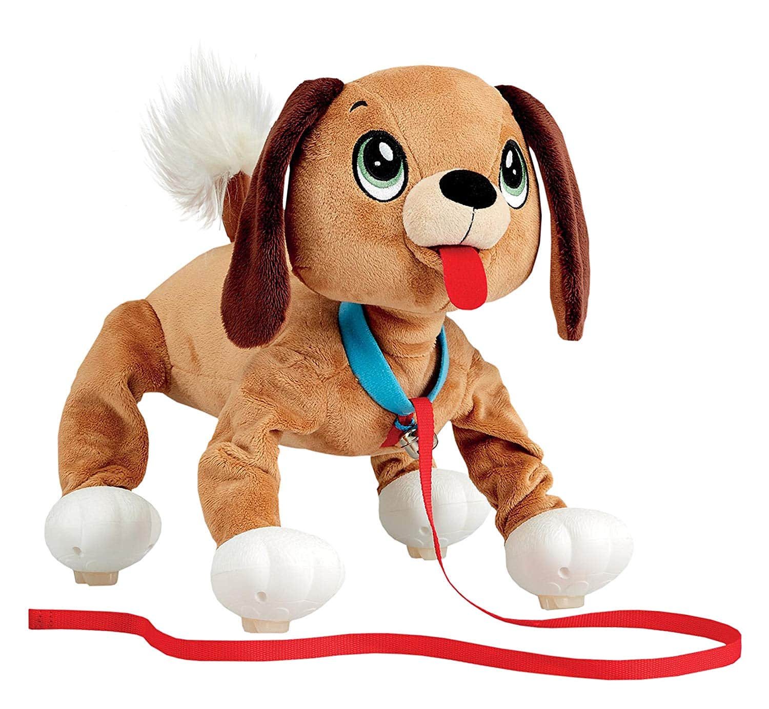 "Peppy Pets Mutt 11"" Interactive Walking Puppy $10.99 + Free Store Pickup"