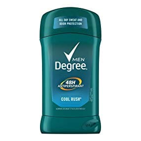 6-Pack 2.7oz. Degree Men Original Protection Antiperspirant Deodorant (Cool Rush) $8.75 w/ S&S + Free Shipping