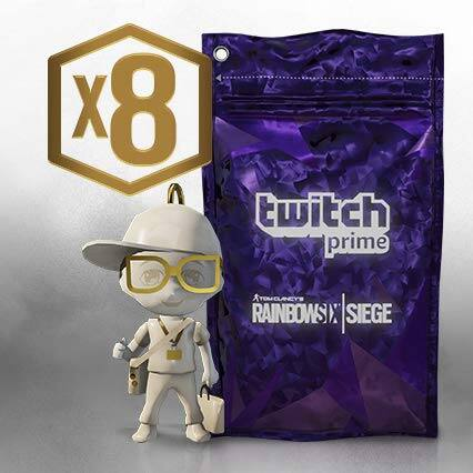 Twitch Prime: Rainbow Six Siege: 8x Prime Packs (PC/PS4/XB1