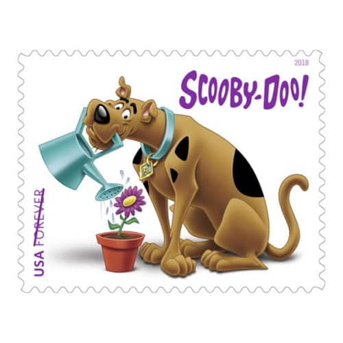 Select eBay Accounts: 12-Count Scooby-Doo USPS Forever Stamps