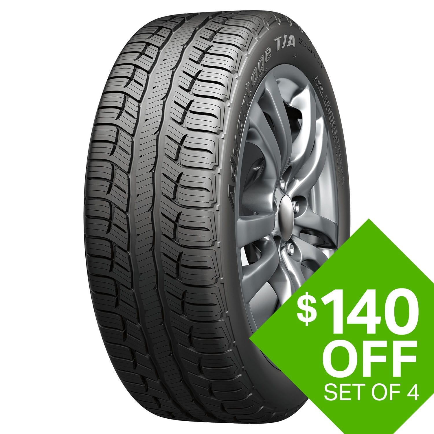 Sam S Club Members Set Of 4 Bf Goodrich Tires W Installation
