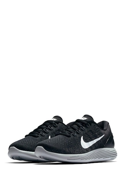 Nike Women s LunarGlide 9 Running Shoes (Black) - Slickdeals.net 40aee0b1a
