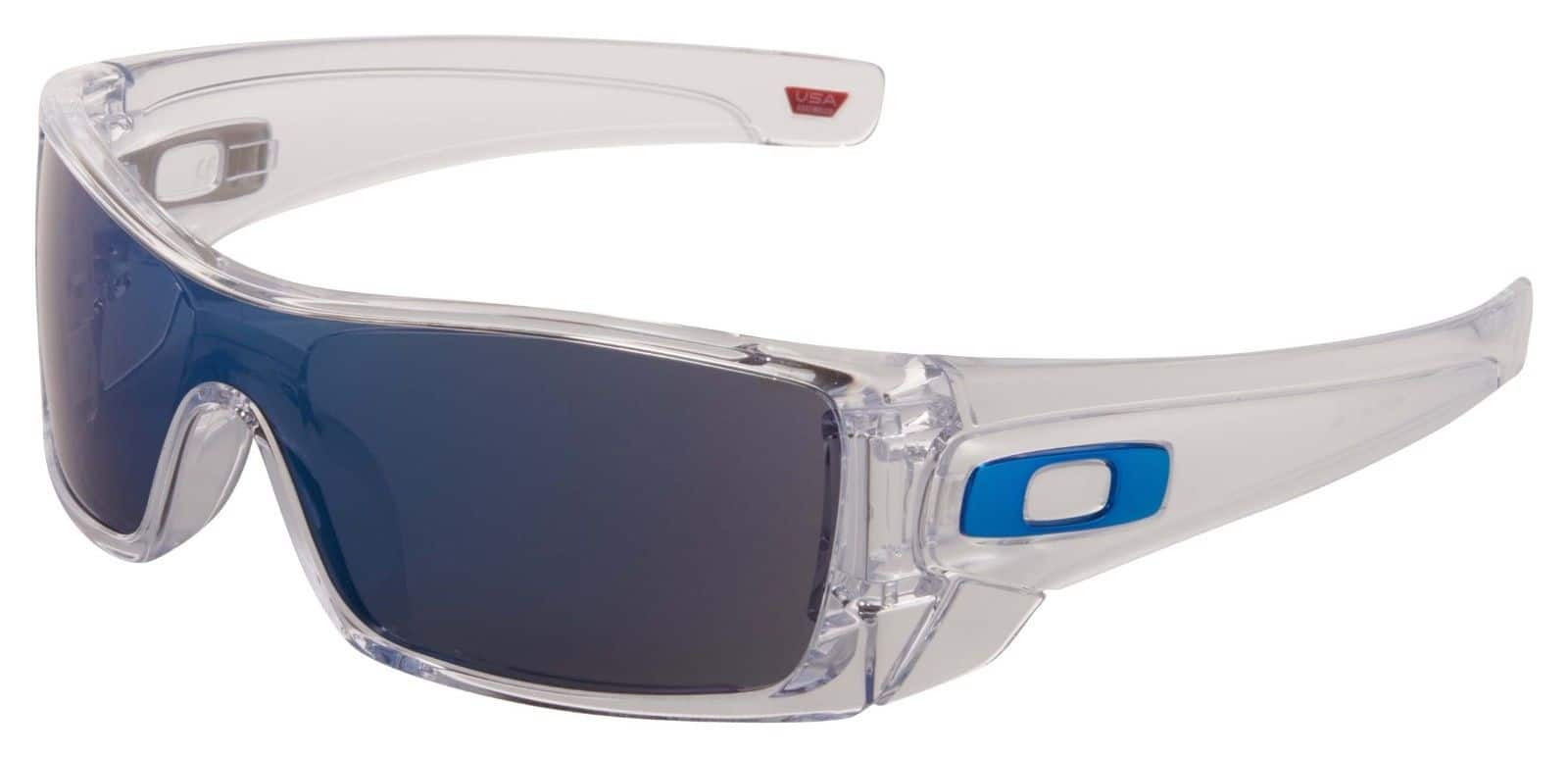 2594a10766 Oakley Sunglasses  Oakley Batwolf Clear Sunglasses (Ice Iridium Lens ...