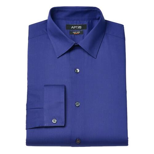 4e8e6120 Kohls Cardholders: Men's Croft & Barrow or Apt 9 Dress Shirts ...