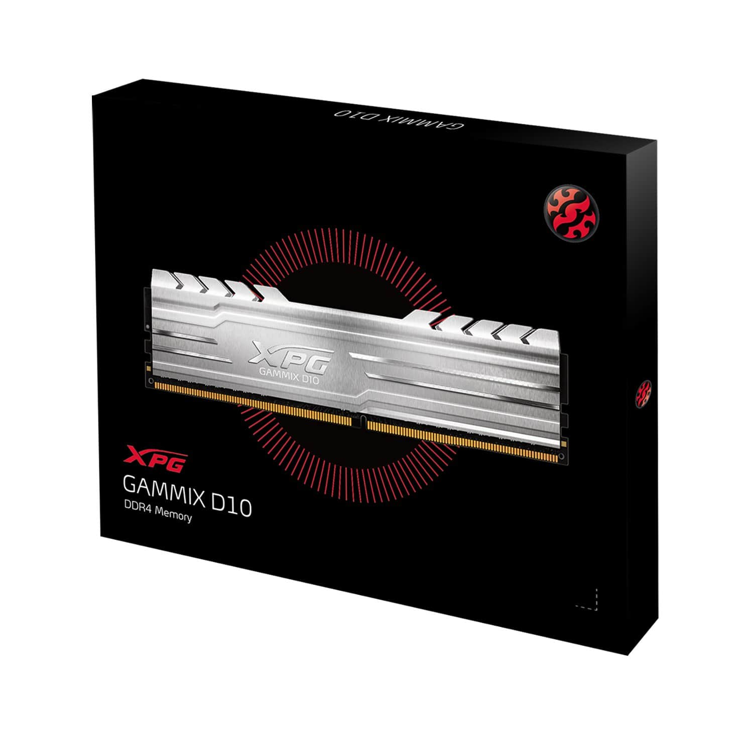 16GB (2x8GB) ADATA XPG GAMMIX D10 DDR4 3000MHz Desktop Memory $53.50 + free shipping