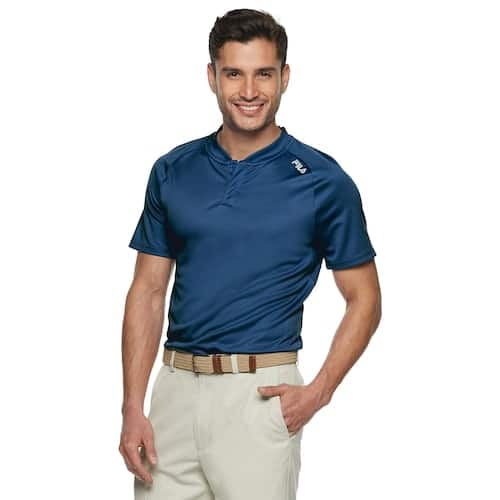 Kohl's Cardholders:Men's Fila Sport Golf - Polos $6.99, Driver Shorts $12.59,  Driver Slim-Fit and Athletic Fit Pants (Limited Selection) $14.99