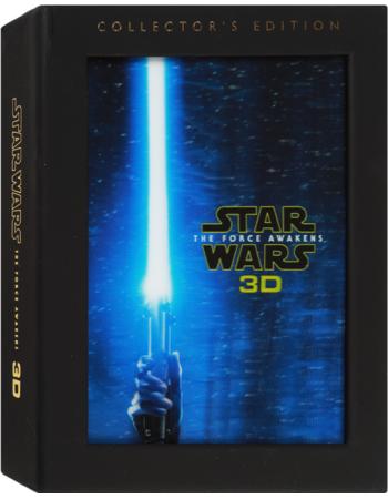 Star Wars The Force Awakens (Blu-ray + 3D Blu-ray + DVD +