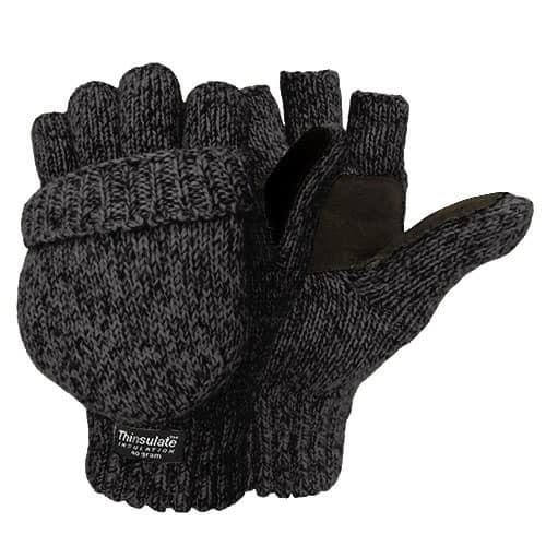 Igloos Men's Thinsulate Wool Mittens w/ Sueded Palm $6.49 + Free Shipping