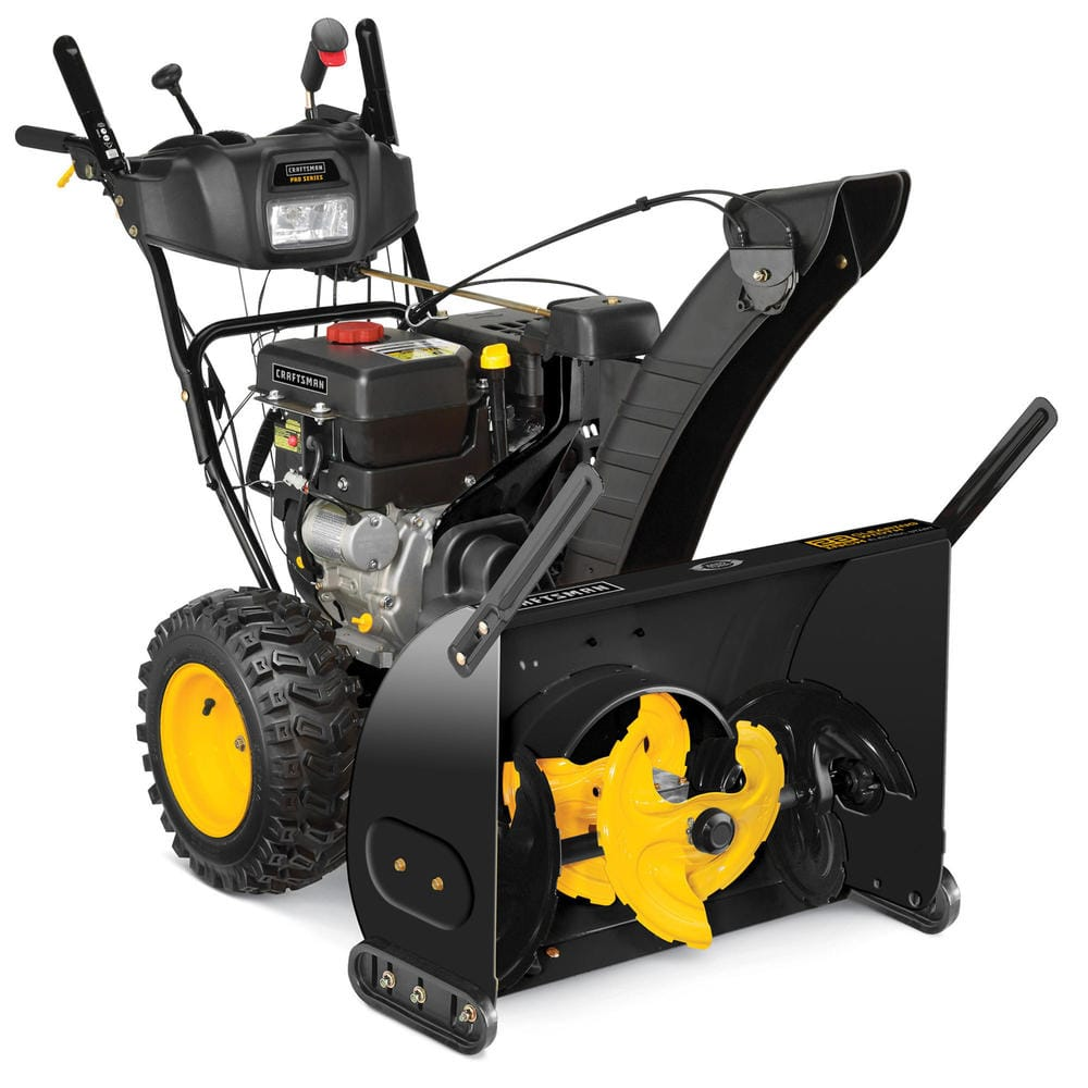 "Craftsman Snowblowers: 28\"" 357cc 3-Stage Snowblower w/ Power Steering"