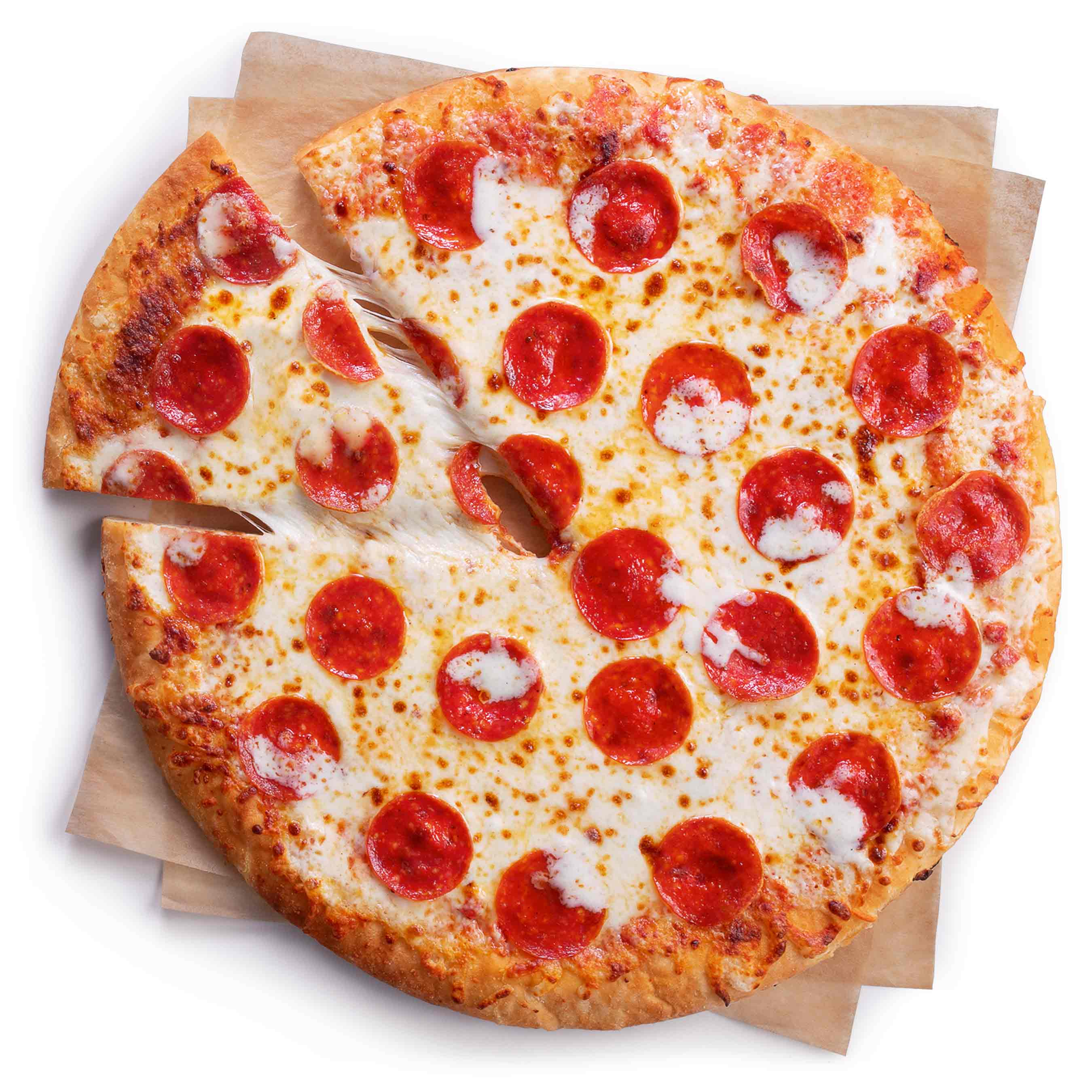 7-Eleven: Whole Large Pizza (Pepperoni, Extreme Meat, Triple Cheese)