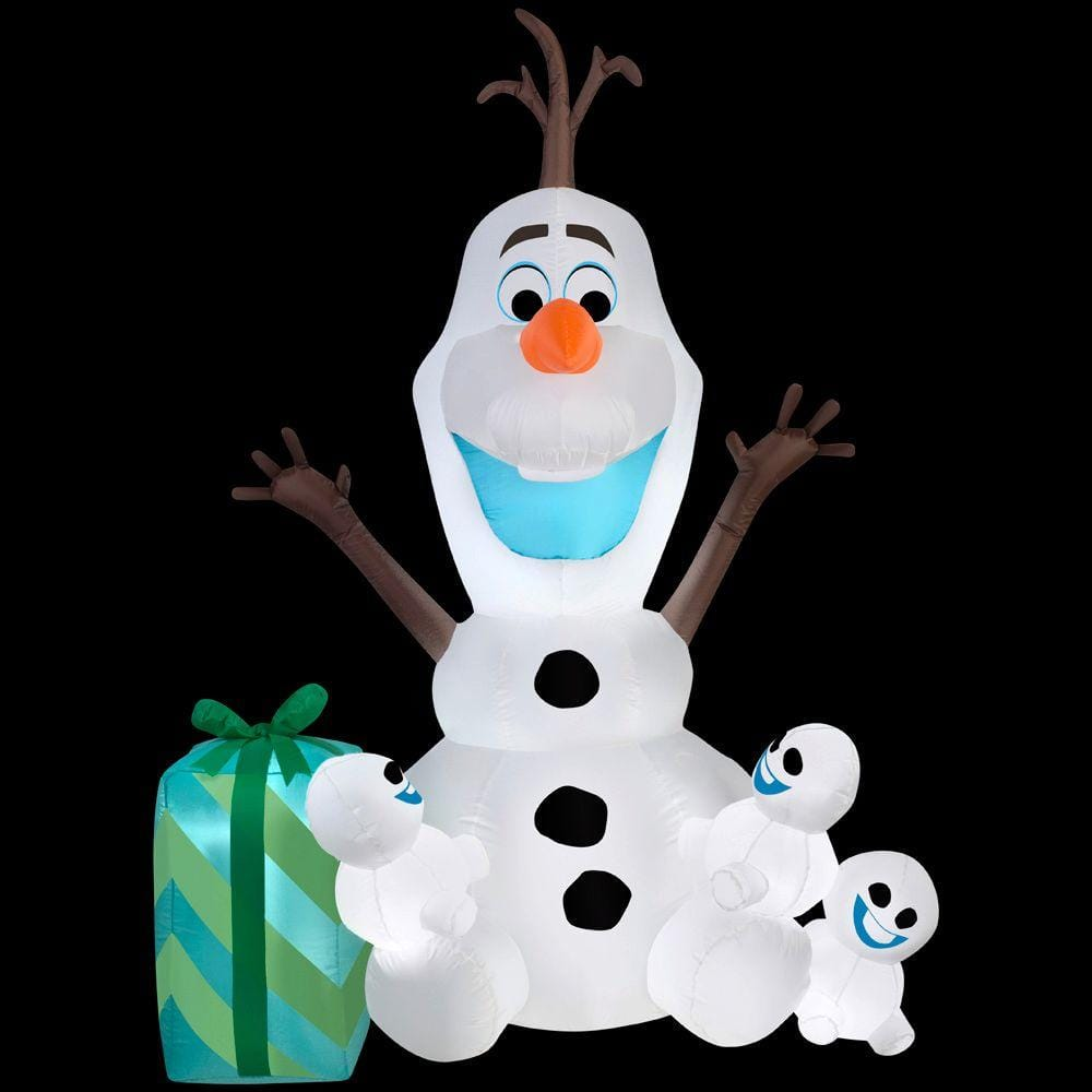 home depot 75 off christmas decor and more - Olaf Outdoor Christmas Decoration