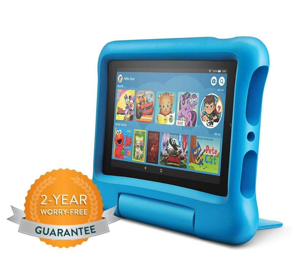 "Fire 7 Kids Edition Tablet, 7"" Display, 16 GB, Blue Kid-Proof Case $59.99"