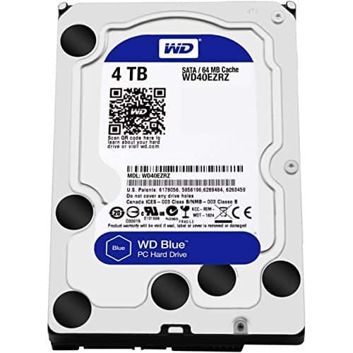 WD Blue 4TB $95.99 Microcenter