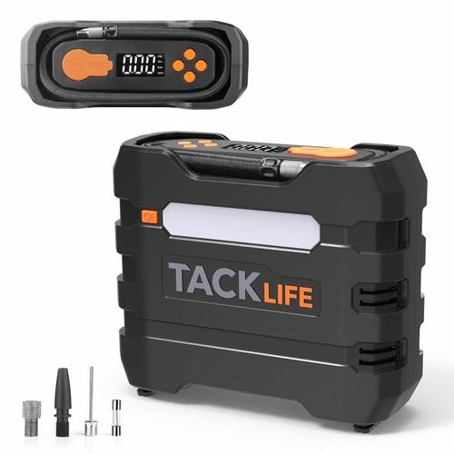 TACKLIFE 150PSI Digital Tire Inflator $22.71 + FSSS