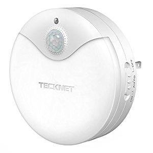 Tecknet Plug In LED Night Light lamp $5.39
