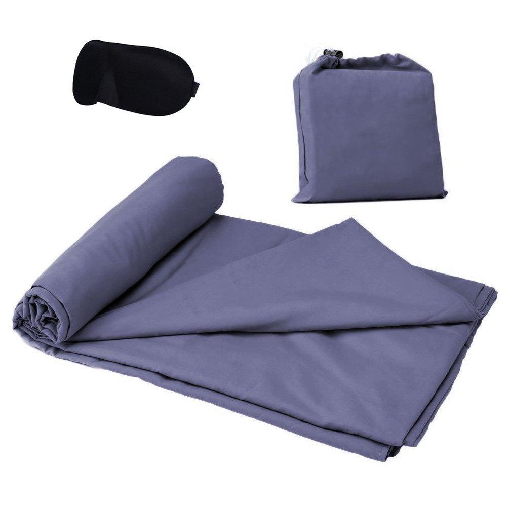KssFire® Sleeping Bag Liner and Camping Sheet Travel Sleeping Bag Lightweight Sleep Sack Bottom Zipper -- $8.99 AC + Free Prime Shipping