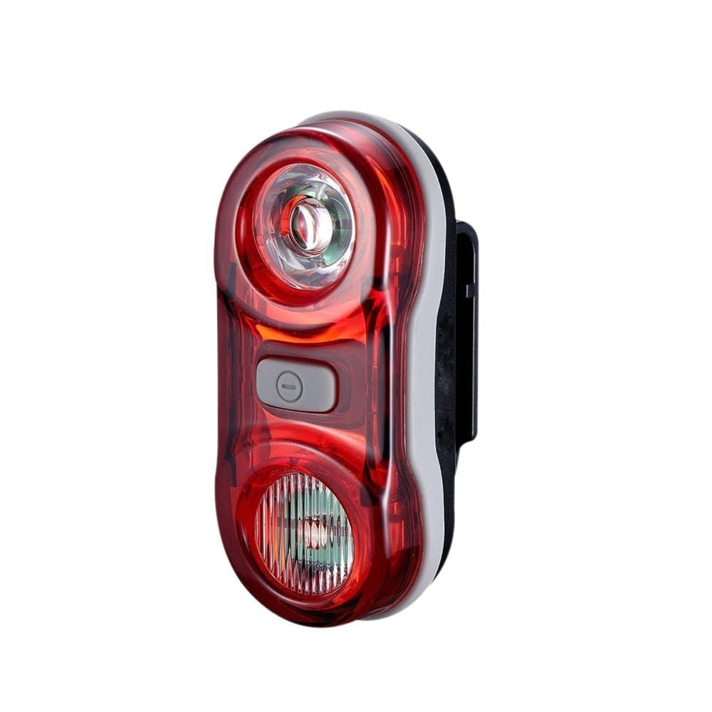 Onedayshop® Super Bright Waterproof 2 LED Mountain Bike Road Bicycle Cyling Rear Laser Tail Light Flashlight Warning Light Safety Light Lamp -- $4.99 AC + FREE Prime Shipping