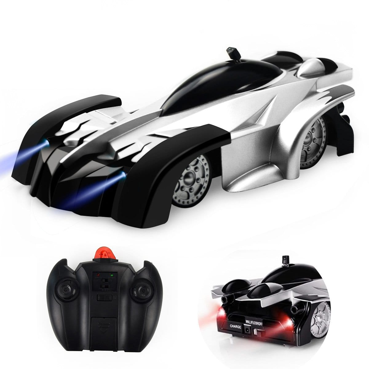 CestMall Remote Control Car, RC Car, Wall Climbing Car + Regular Car Mode, 360°Rotating Stunt Car Toys for Kids, USB or Remote Charging -- $13.79 AC + FREE Prime Shipping
