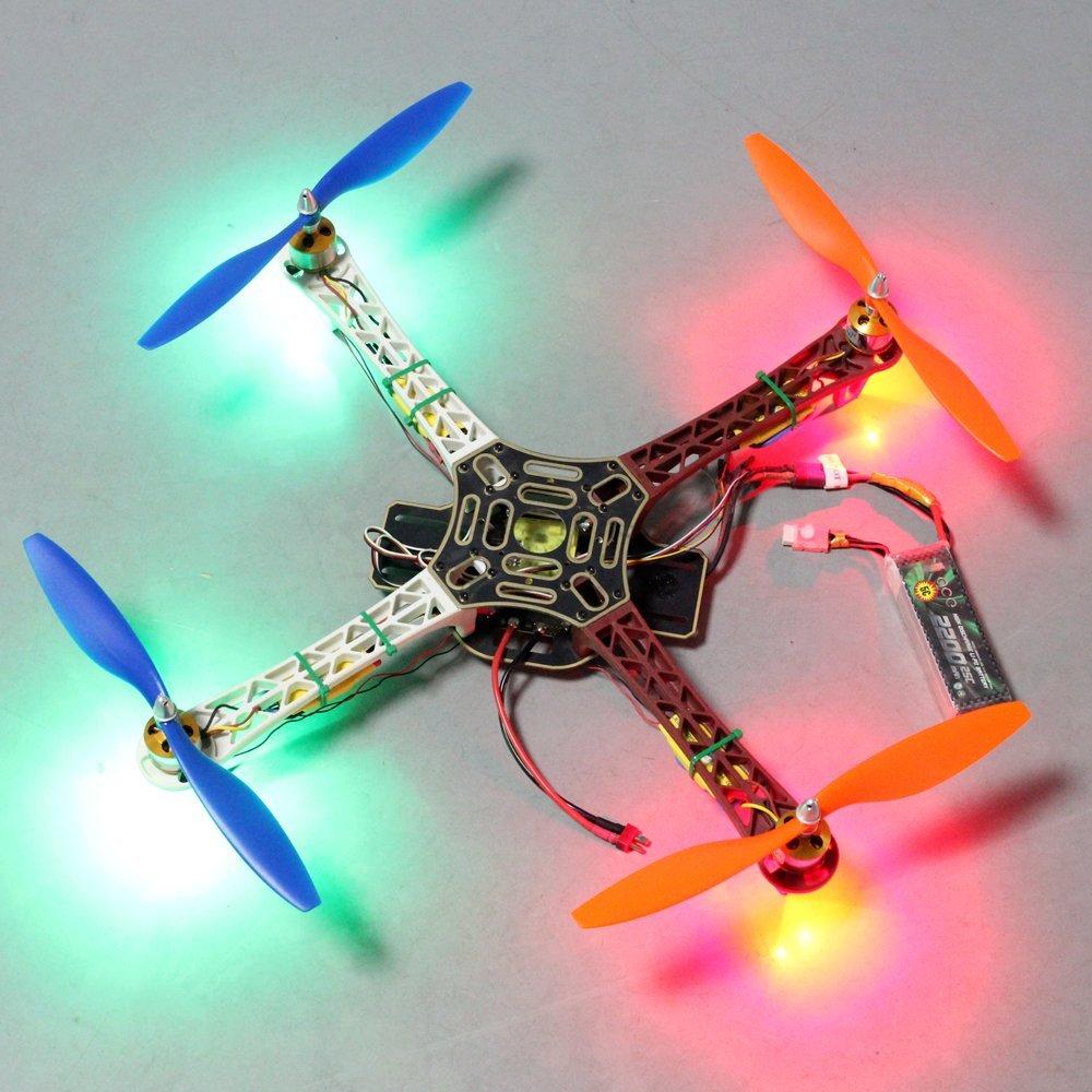 RipaFire LED Light Night Flying Lamp 0.5W Super Bright LED for F450 F330 F550 S500 Quadcopter(4pcs) -- $5.49 AC