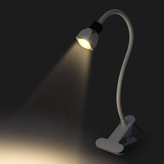 Allnice Dimmable Led Desk Lamp Sy Flexible Gooseneck Clip On Everywhere 4