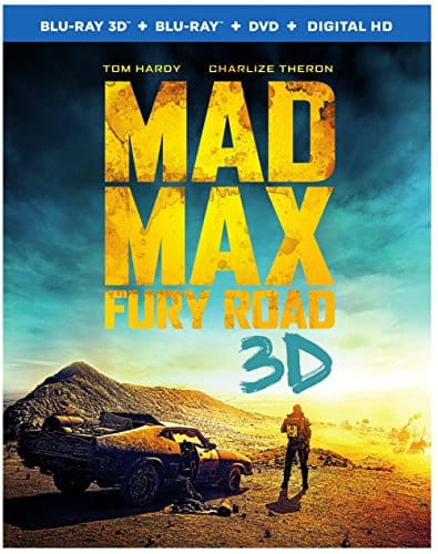 Mad Max: Fury Road (3D Blu-ray + Blu-ray + DVD + Digital HD) $16.80 + Free Store Pickup