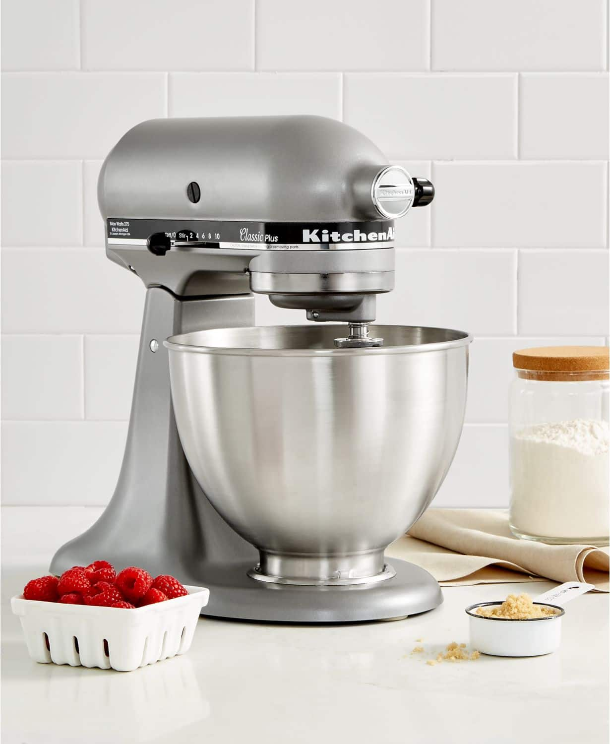 09f3c210f2e KitchenAid KSM75SL Classic Plus 4.5-Qt. Tilt-Head Stand Mixer ...
