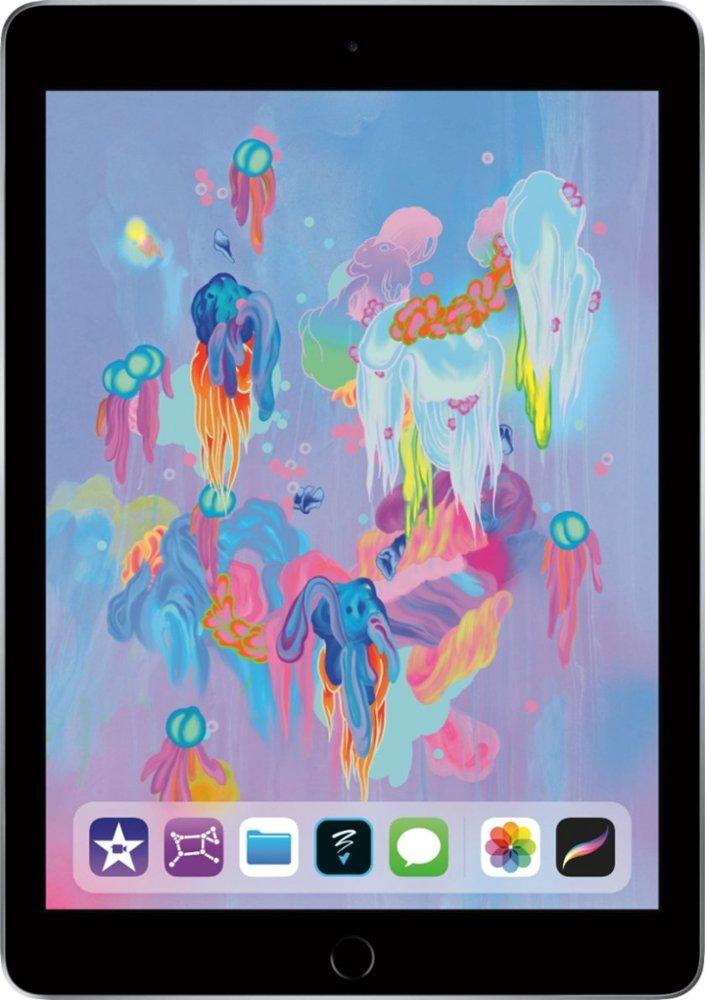 Apple - iPad (Latest Model) with Wi-Fi - 32GB - Space Gray $249.99