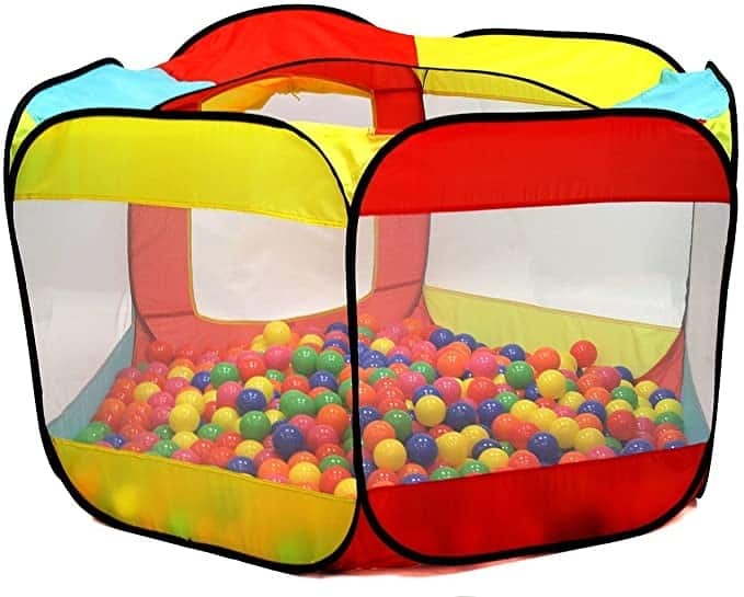 Kiddey 6-Sided Ball Pit Play Tent for Kids $20.69 + Free Shipping w/ Prime