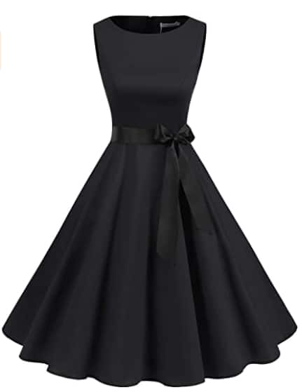 Women's Audrey Hepburn Rockabilly Vintage Dress from $9.09