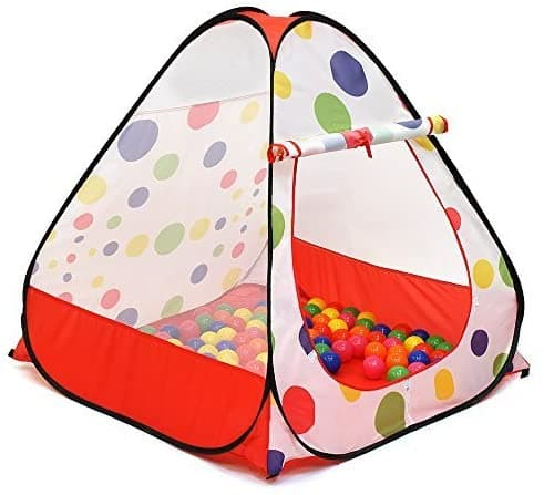 Ball Pit Play Tent for Kids with Carry Bag $16.14 + Free Shipping w/ Prime