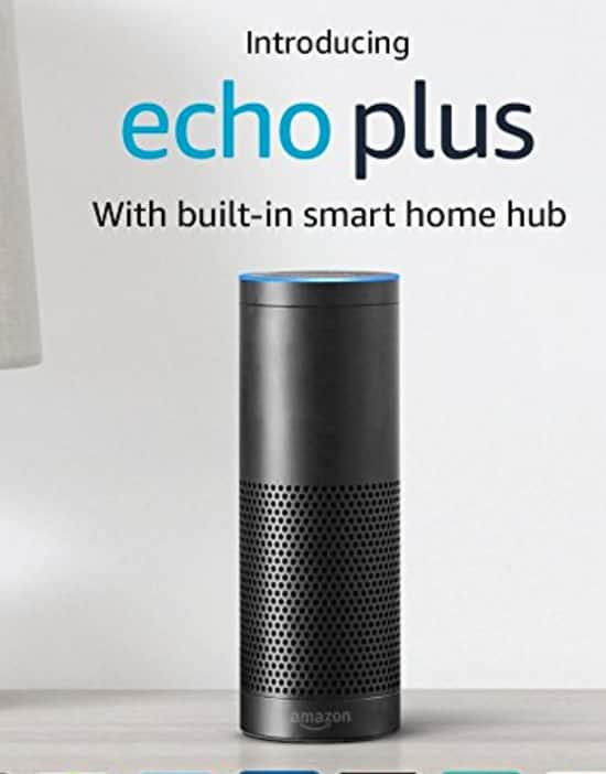 Amazon Echo Plus pre-order $149.99 reg price $164.98 Plus Phillips Hue Bulb releases Oct 31