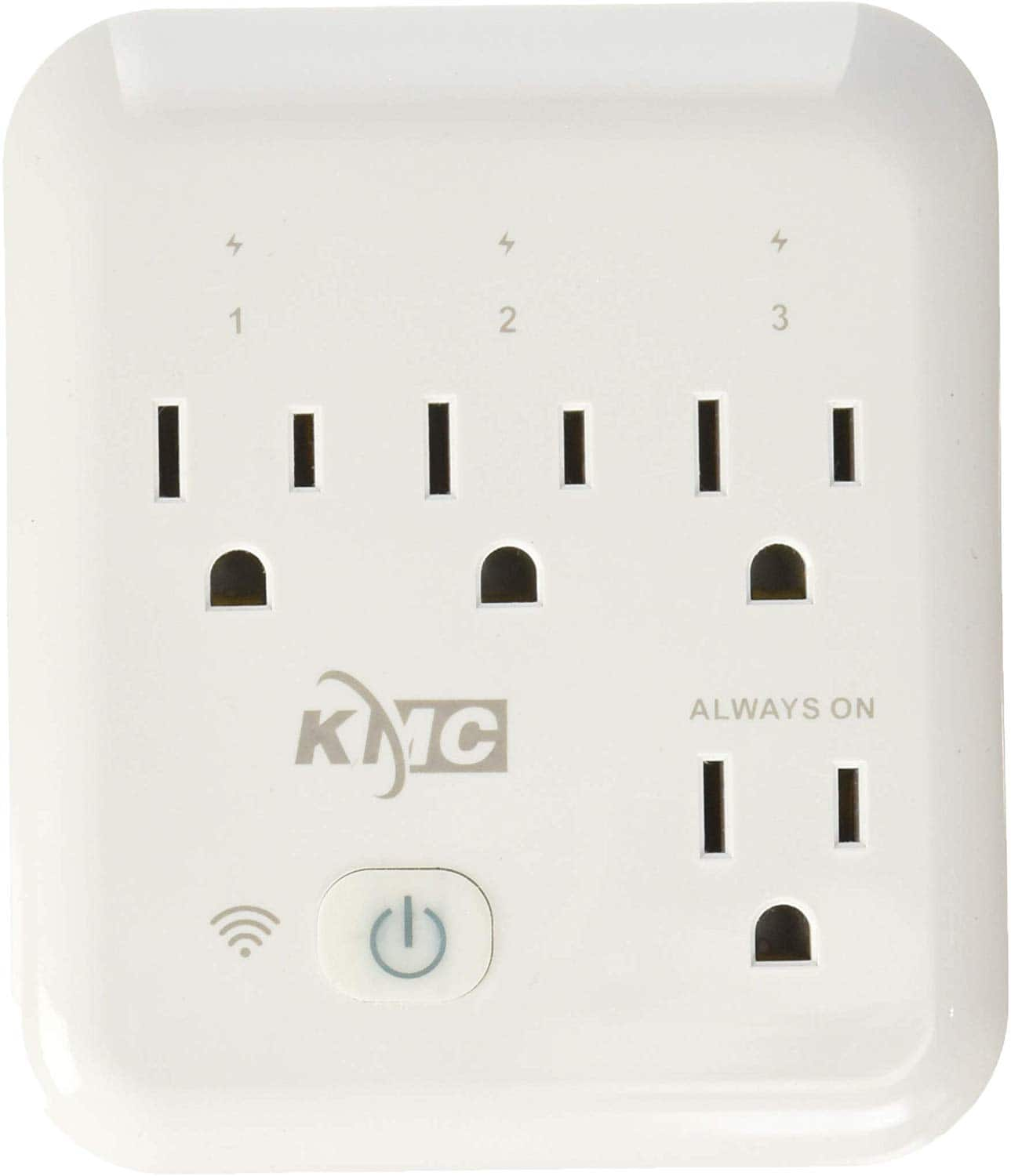 KMC 4 Outlet WiFi Smart Plug with Energy Monitoring Smart Outlet $10, free ship with Prime