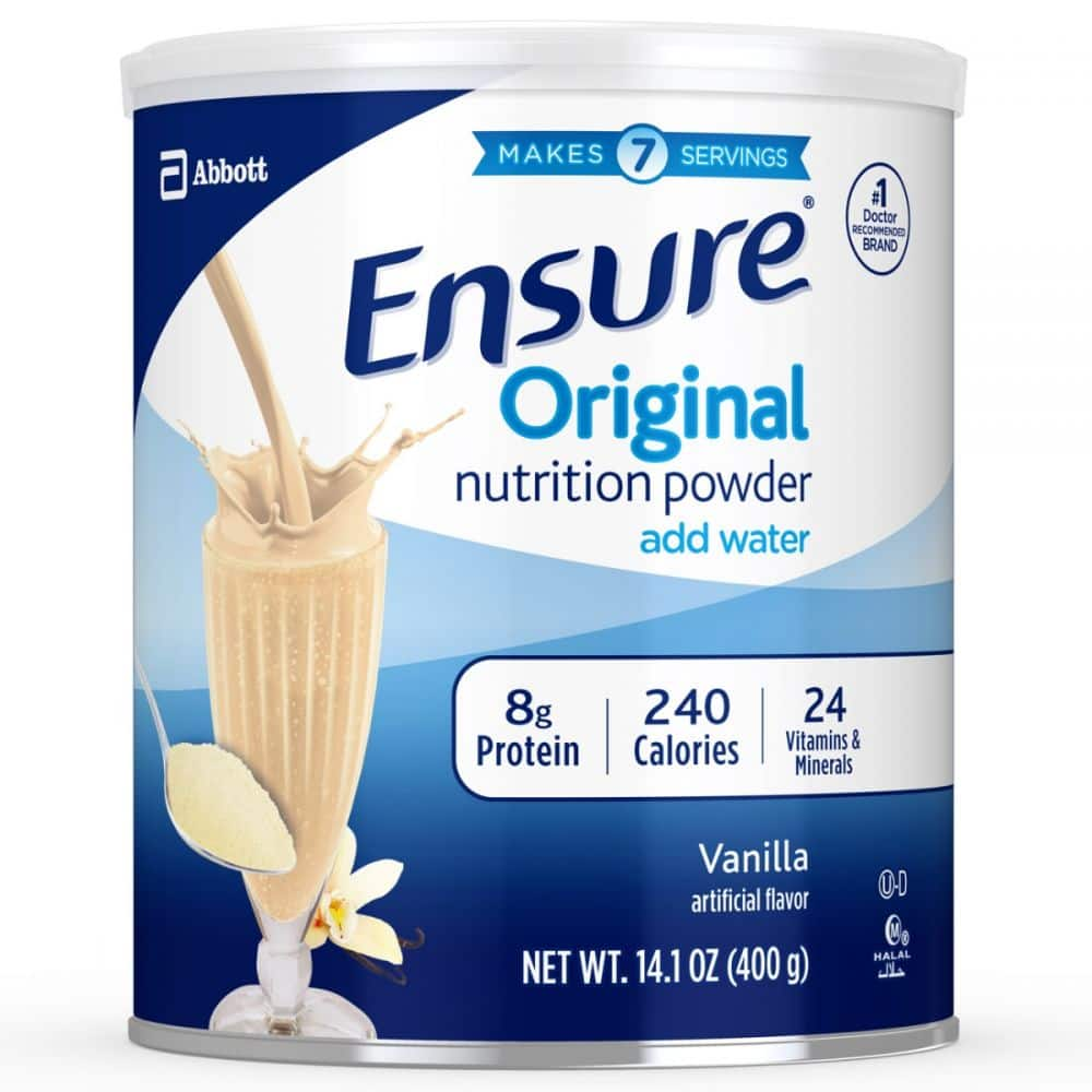 Ensure Nutrition Powder Shake Mix 2 for $10.06 with free ship to store