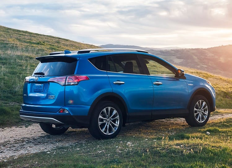 Toyota RAV4 XLE Hybrid 2016 $245 per month before tax, zero down (MA)