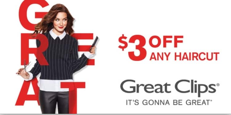 image relating to Sports Clips Free Haircut Printable Coupon identified as Perfect Clips Coupon $3 or $5 off at Pick out Locaions