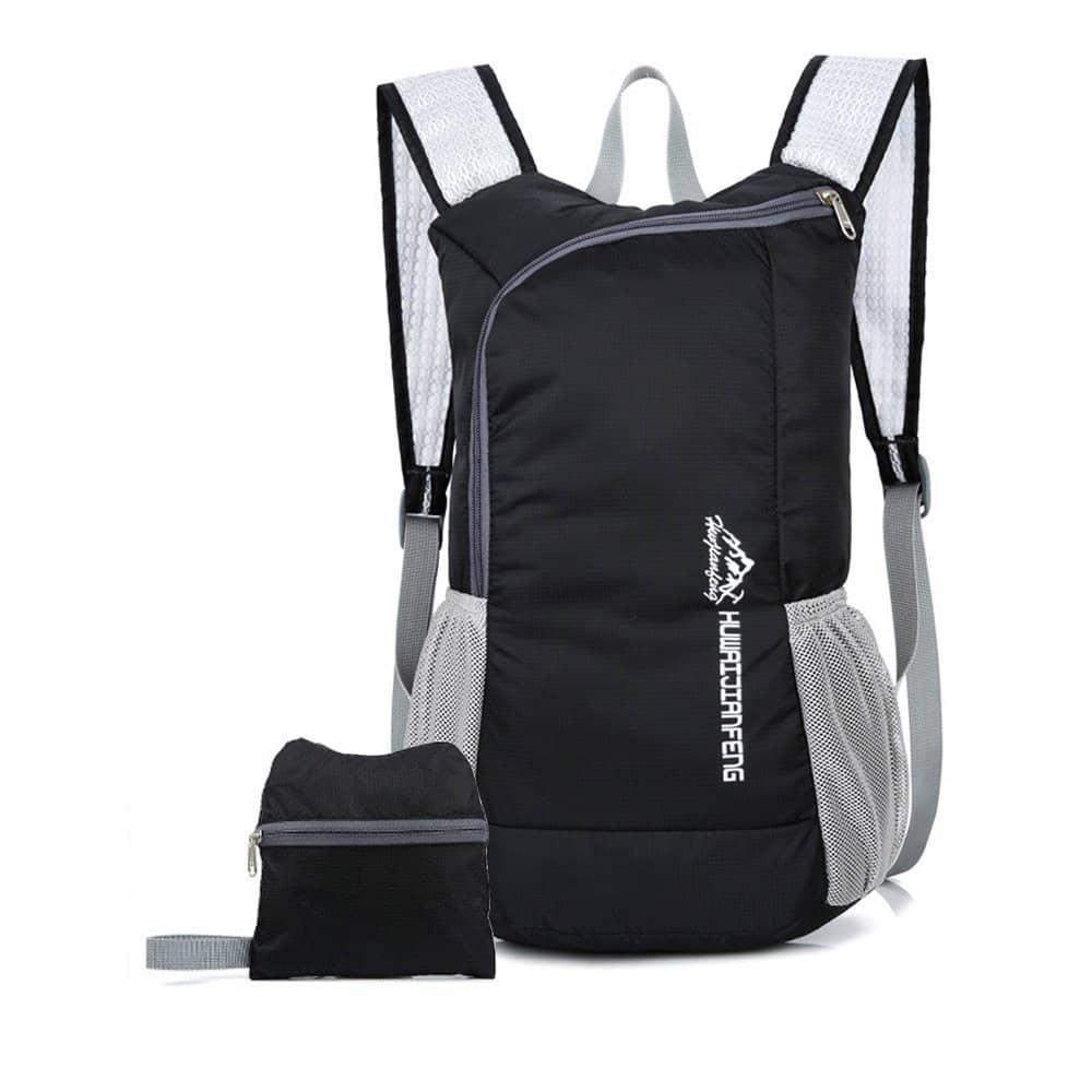 Outdoor Foldable Backpack 15L Ultra Lightweight Waterproof $1.80 with Prime shipping after 80% off coupon